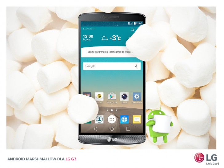 LG G3 D855 Marshmallow Update South Africa